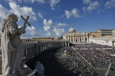 Papa Francesco proclama 7 nuovi santi - foto avvenire.it
