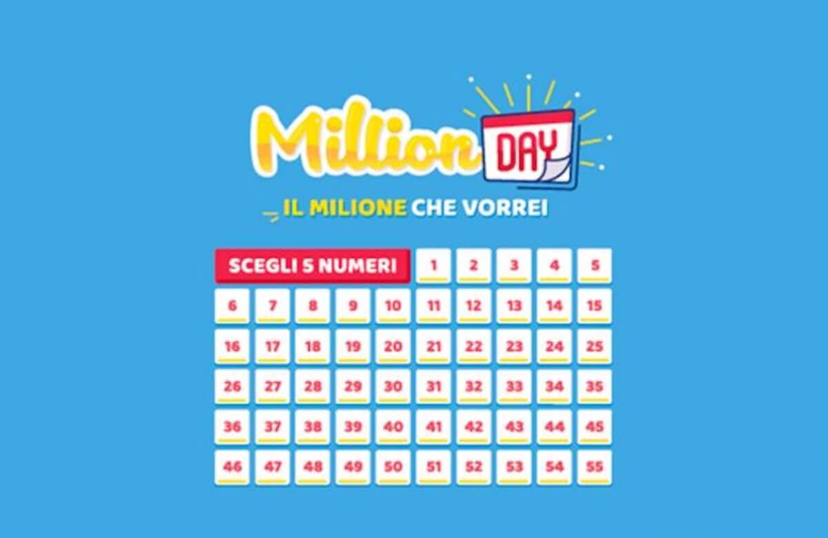 million day estrazione 8 aprile 2019